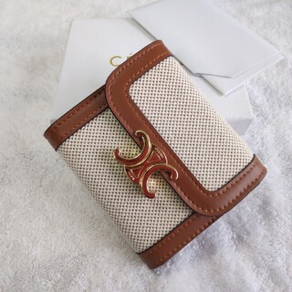 celine - 素敵美品✨CELINEセリーヌ  さいふ ★折り財布  ♥小銭入れ