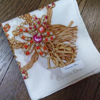Christian Dior - 【H62】クリスチャンディオールハンカチ
