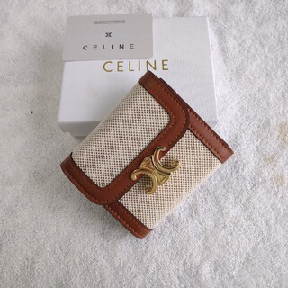 celine - ❀人気品美品/国内発送/送料込み❀ CELINE セリーヌ 折り財布