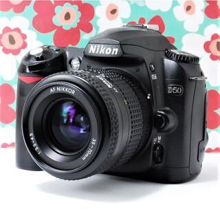 Nikon - ❤初心者必見❤️スマホに送れる❤Nikon D50レンズキット❤️使いやすい❤