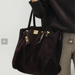 L'Appartement DEUXIEME CLASSE - 新品 SITA PARANTICA Suede Tote Bag ブラウン