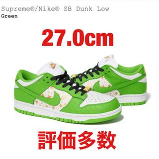 Supreme - Supreme®/Nike® SB Dunk Low 27cm