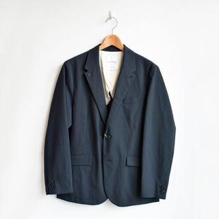 コモリ(COMOLI)のstill by hand スティルバイハンド /テーラードジャケット ネイビー(テーラードジャケット)