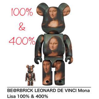MEDICOM TOY - 【100%&400%】BE@RBRICK DE VINCI Mona Lisa