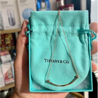 Tiffany & Co. - Tiffany&Coスマイル ペンダント  ローズゴールド