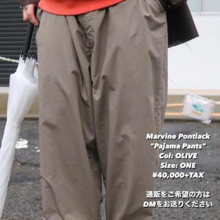 ワンエルディーケーセレクト(1LDK SELECT)の1回着 21ss Marvine Pontiak Pajama Pants 2(チノパン)