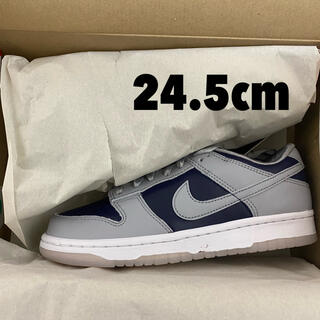 "NIKE - 【24.5cm】Nike Dunk Low ""College Navy"""