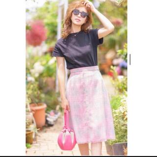 Drawer - 新品未使用♡タグ付き♡セブンテン♡サマーツイードスカート♡ピンク♡Mサイズ