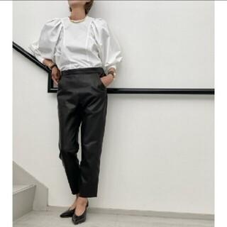 L'Appartement DEUXIEME CLASSE - 【RAW+/ロゥタス】Leather Cropped Pants◇36