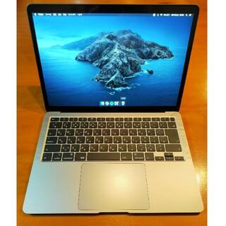 Mac (Apple) - 【美品】MacBook Air 2020 スペースグレー 13インチ