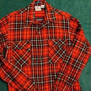 ラングラー(Wrangler)のプレンティス 肉厚ネルシャツ 未使用に近い!90年代!Made inUSA(シャツ)
