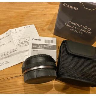 キヤノン(Canon)のCanon コントロールリング マウントアダプター 美品(その他)