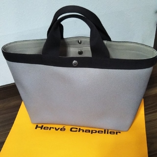 Herve Chapelier - 美品 エルベシャプリエ トートバッグ