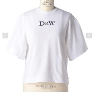 Drawer - Drawer ドゥロワー プリントエンブレムTシャツ