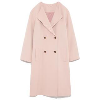 Mila Owen - 美品♡衿折り返しミドル丈コート フレイアイディー スナイデル リリーブラウン