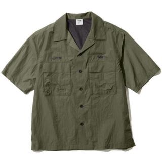 SOPH - 1回着用難あり GU オープンカラーシャツ1MW by SOPH. オリーブ L