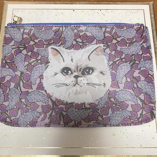 メゾンドリーファー(Maison de Reefur)の時間限定大幅値下げmaison de reefur 猫柄ポーチ (ポーチ)