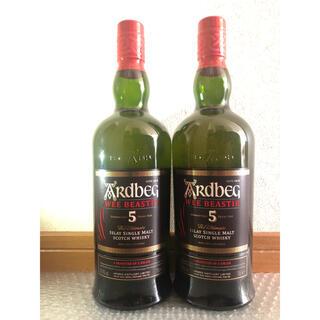 アイラ(ila)の2本セット:アードベッグ ウィー・ビースティーARDBEG 5年 700ml(ウイスキー)