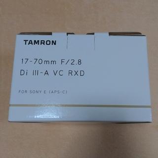 TAMRON - タムロン 17-70mm F/2.8 Di III-A VC RXD 新品・未開