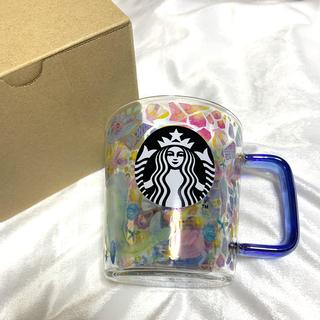 Starbucks Coffee - スタバ 耐熱 グラス プリズム マグ 355ml 激レア スターバックス くじら