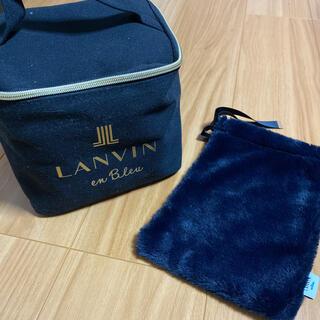 ランバンオンブルー(LANVIN en Bleu)のランバンのポーチ&巾着(ポーチ)