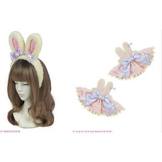 アンジェリックプリティー(Angelic Pretty)のAngelic Pretty Bunny カチューシャとお袖止め(その他)