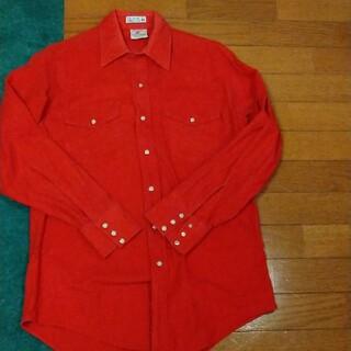 ラングラー(Wrangler)のプレンティス シャモア ウエスタンシャツ!Made inUSA!(シャツ)