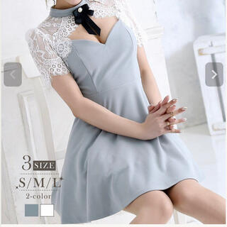 dazzy store - ブローチバストカットAラインキャバドレス