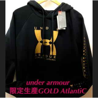 UNDER ARMOUR - 限定生産under armour Atlantic GOLDParker  L