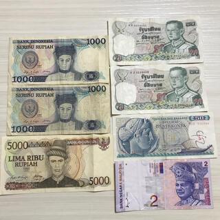 旧紙幣 海外紙幣 まとめ売り(貨幣)