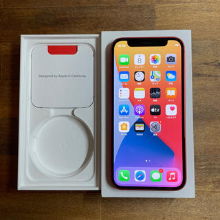 Apple - iphone12 mini 256GB レッド simフリー