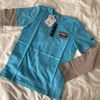 mikihouse - 新品♡ミキハウス 重ね着風長袖Tシャツ 140 男の子