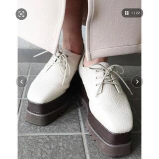 ムルーア(MURUA)のMURUA ワイドソールローファー(ローファー/革靴)