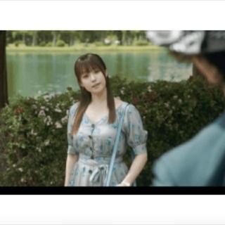snidel - エクランドットフラワーワンピース芸能人着用深田恭子さん着用