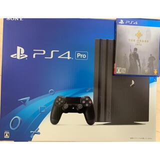 プレイステーション4(PlayStation4)のPS4 Pro + 充電器付きファンスタンド + ソフト(家庭用ゲーム機本体)