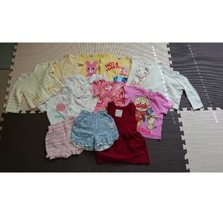 クーラクール(coeur a coeur)の女の子 80 長袖 半袖 ズボン まとめ売り(Tシャツ)