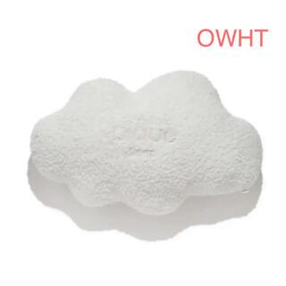ジェラートピケ(gelato pique)のジェラートピケ   【Sleep】くもクッション オフホワイト 白 ぬいぐるみ(クッション)