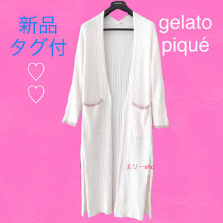 gelato pique - 新品タグ付♡ ジェラートピケ ガウン