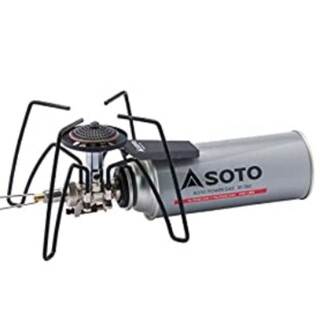 シンフジパートナー(新富士バーナー)の専用 SOTO ST-310 モノトーンモデル ブラック レギュレーターストーブ(調理器具)