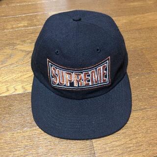 Supreme - Supreme シュプリーム キャップ 刺繍ロゴ 全タグ 正規品 USA産