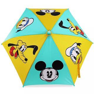 ディズニー(Disney)の【未使用】ディズニー傘 子供用光る傘(傘)