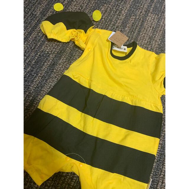 futafuta(フタフタ)のロンパース 蜂 キッズ/ベビー/マタニティのベビー服(~85cm)(ロンパース)の商品写真