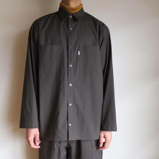 graphpaper stretch tipewriter L/S shirt