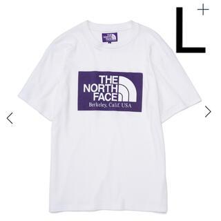 THE NORTH FACE - ノースフェイス パープルレーベル ロゴ Tシャツ 新品 L ホワイト