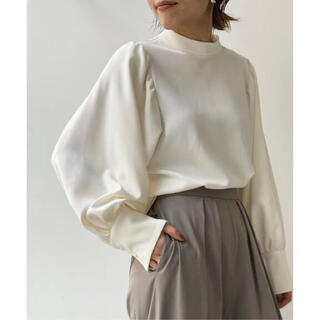 L'Appartement DEUXIEME CLASSE - アパルトモン Stand Collar Blouse ホワイト