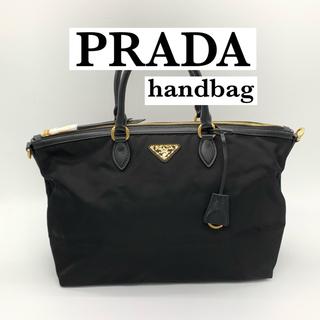 プラダ(PRADA)のSALE❗️新品☆プラダ PRADA ハンドバッグ 黒 ショルダーバッグ(ハンドバッグ)