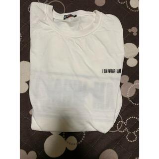 トリプルエー(AAA)のTシャツ 未使用 半袖 白 黒 與真司郎 IAMWHATIAM(Tシャツ/カットソー(半袖/袖なし))