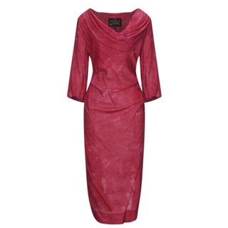 ヴィヴィアンウエストウッド(Vivienne Westwood)のヴィヴィアン ウエストウッド アングロマニア ☆ドレス☆  80%OFF(ミディアムドレス)