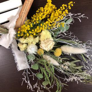♡断捨離ききちゃん様専用No.372  mimosaドライフラワースワッグ♡