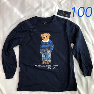 POLO RALPH LAUREN - ラスト1点◆ラルフローレン ポロベア Tシャツ ネイビー 3T/100
